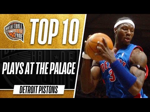 Top 10 Pistons Plays at the Palace of Auburn Hills!