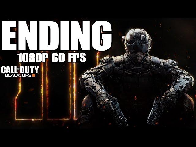 Call of Duty Black Ops 3 Ending Final Boss Fight Cutscene Explanation Credits III