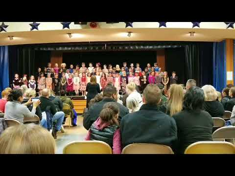 North Gresham 2nd Grade Singing Night Feb 15, 2018