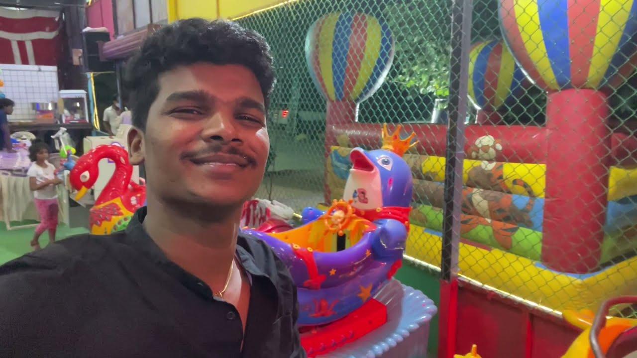 ₹100 తో అన్ని ఆటలు ఆడుకోవచ్చు 🤠   New Kids జోన్ At Nagole   Outing with Kids 👶