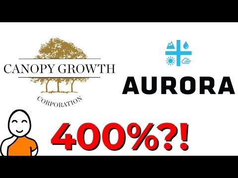 💚 Canopy Growth Stock Versus Aurora Cannabis Stock ❗ Best Marijuana Stocks 💚