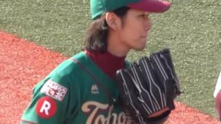 2014年9月23日 楽天イーグルスファン感謝際に亀梨和也君が登場.