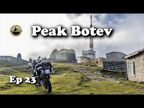 Ep 23 - Beklemeto Pass & Peak Botev / Motorcycle Trip Bulgaria