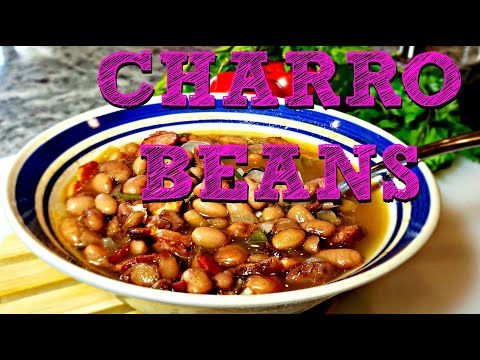Charro Beans Recipe | How To Make Mexican Bean Soup