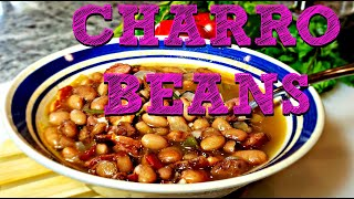 Charro Beans Recipe  How To Make Mexican Bean Soup