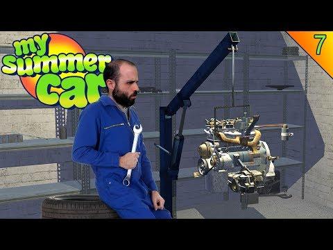 YA TENGO MOTOR!! | MY SUMMER CAR Gameplay Español