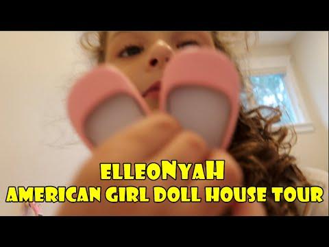 American Girl Doll Room Tour |  ElleoNyaH
