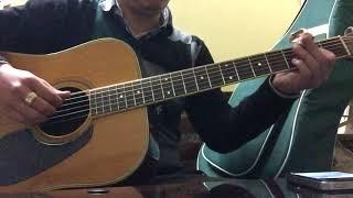 Cây đàn Ghita của đại đội ba. Guitar cover. GIAI ĐIỆU TỰ HÀO