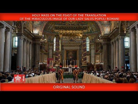 Pope Francis- Holy Mass Salus Populi Romani  2018-01-28