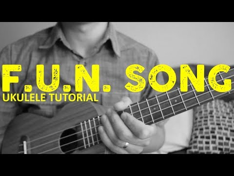 Spongebob Squarepants - Fun Song EASY Ukulele Tutorial - Chords - How To Play