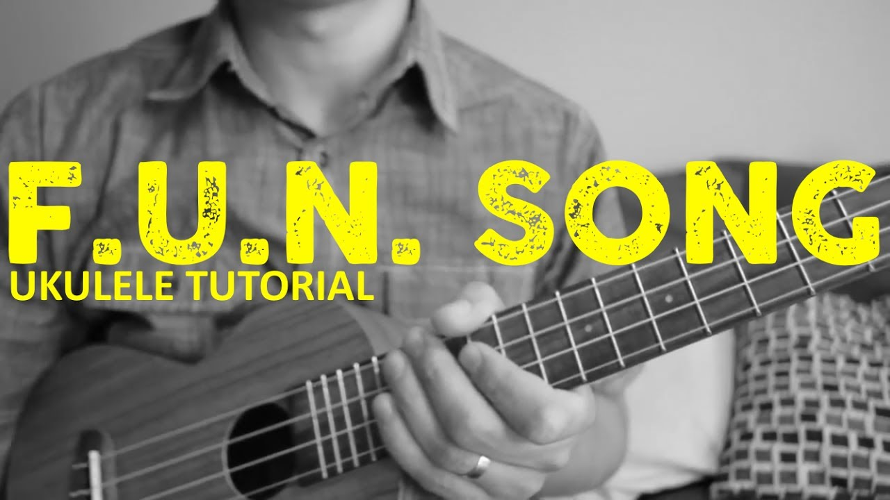 Spongebob Squarepants Fun Song Easy Ukulele Tutorial Chords