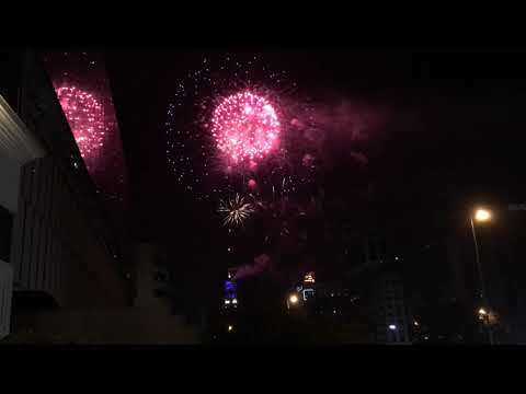 Fuegos Artificiales 2019 Torre Entel Youtube
