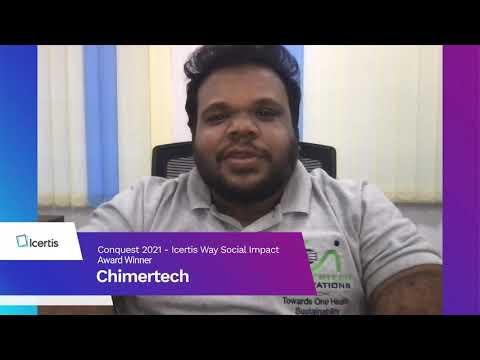 Chimertech wins Icertis Way Social Impact Award at Conquest 2021