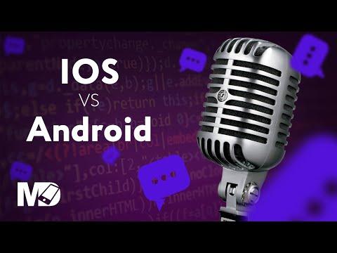 iOS против Android [RU, ITTalks] / Мобильный разработчик