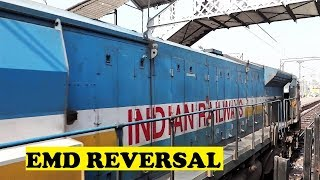 WDP4D Reversal Dehradun Shatabdi Saharanpur