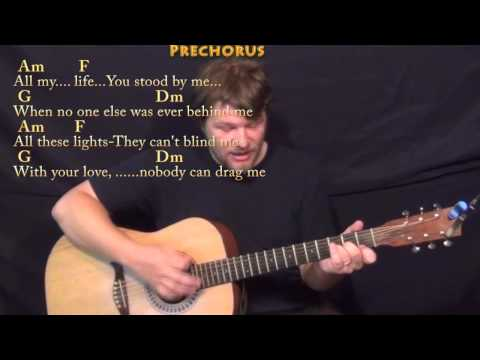 Drag Me Down (One Direction) Strum Guitar Cover Lesson in Am with Chords/Lyrics