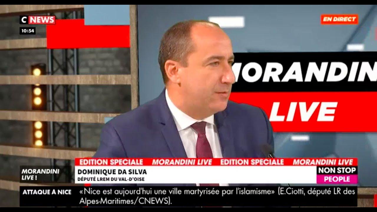 Dominique Da Silva invité du Morandini Live - 30.10.2020