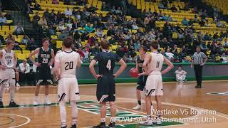Jared McGregor basketball highlights 2017-2018