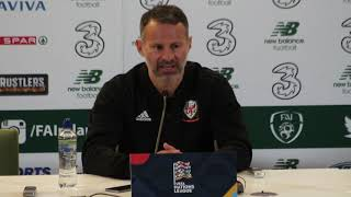 Rep. of Ireland v Wales: Ryan Giggs full press conference