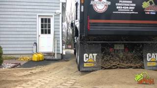 Cat CT660 Dumping 22t Of Sand