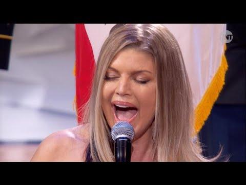 Fergie Mocked for National Anthem Performance at NBA AllStar Game
