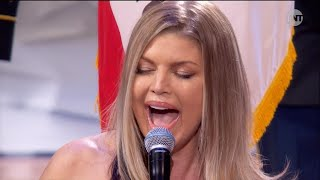 Fergie Mocked for National Anthem Performance at NBA All-Star Game