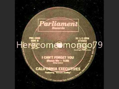 Boogie Down - California Executives - I Can't Forget You