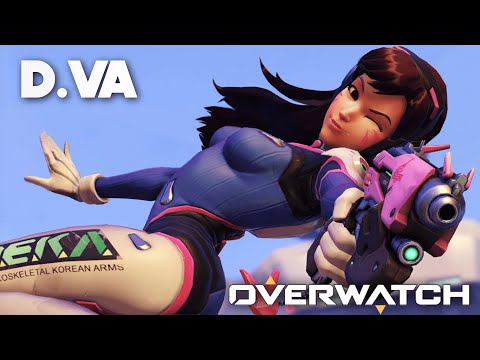 OVERWATCH FR | D.VA - Gameplay ( PS4 )