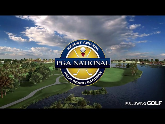 Full Swing GOLF Software: PGA National (Champion Course) Flyover