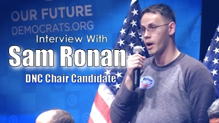 Chat With DNC Chair Candidate Sam Ronan | #RonanForDNC