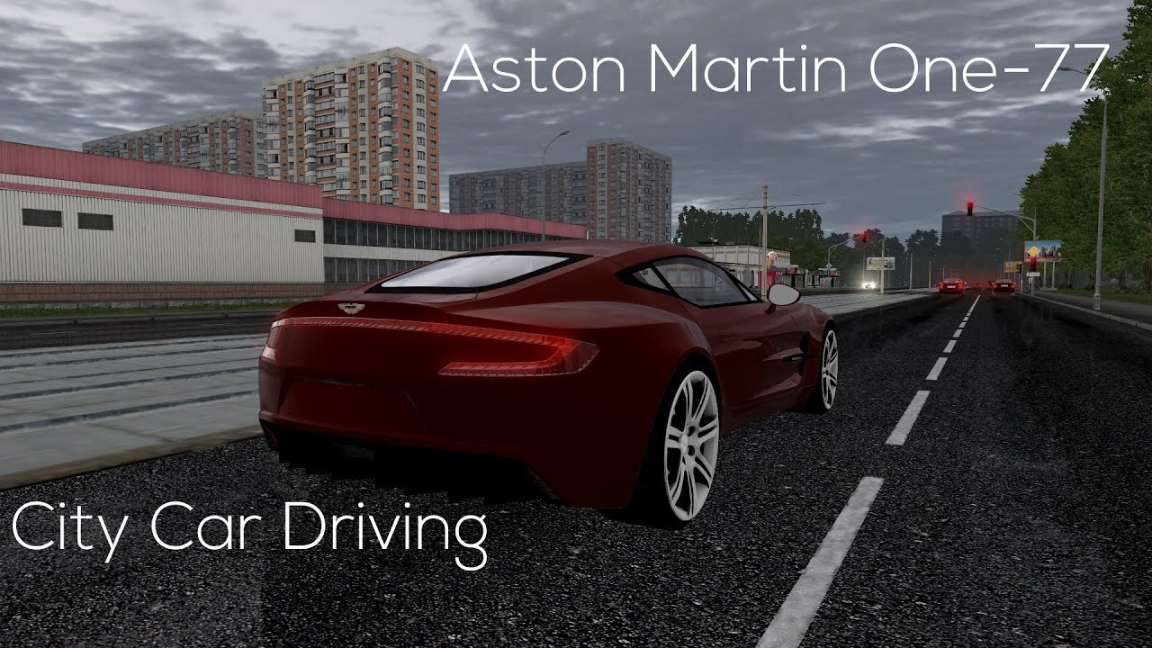 City Car Driving 1.5.3   Aston Martin One 77   Buy Link