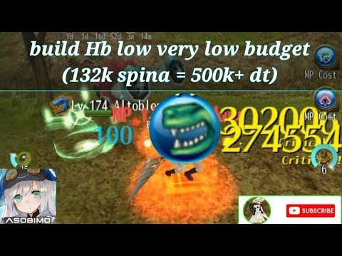 Build HB Very Low Budget - High Demage - Toram Online