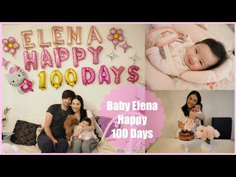 Baby Elena👧🏻🌸🎀 Happy 100 Days!🎉😘😌 | ANGELBIRDBB