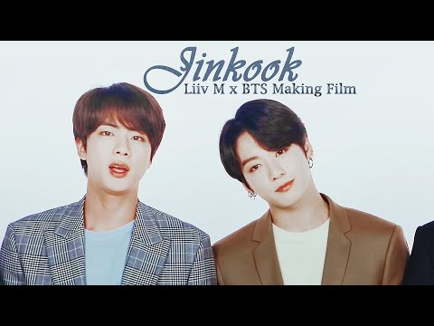 Jinkook анализ: Liiv M X BTS Making Film 2020-2019