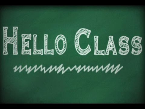 Hello Class:  Directions, Learn English Vocabulary Online