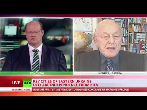 MICHEL CHOSSUDOVSKY exclusive interview with RT TV international