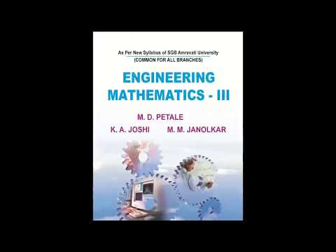 Engineering Mathematics III book promotion
