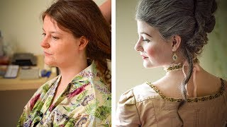 Historical Styles - 18th Century Hair Tutorial