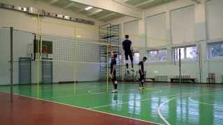 видео Высокий прыжок в волейболе