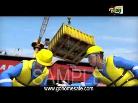 Go Home Safe - Crane Operations Offshore