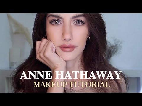 Anne Hathaway Makeup Transformation Tutorial | How to look like A movie star | The devil Wears Prada