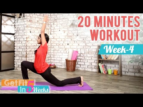 Week 4 – Flexibility and Toning the Core   Get Fit in 5 Weeks   Yogalates With Rashmi