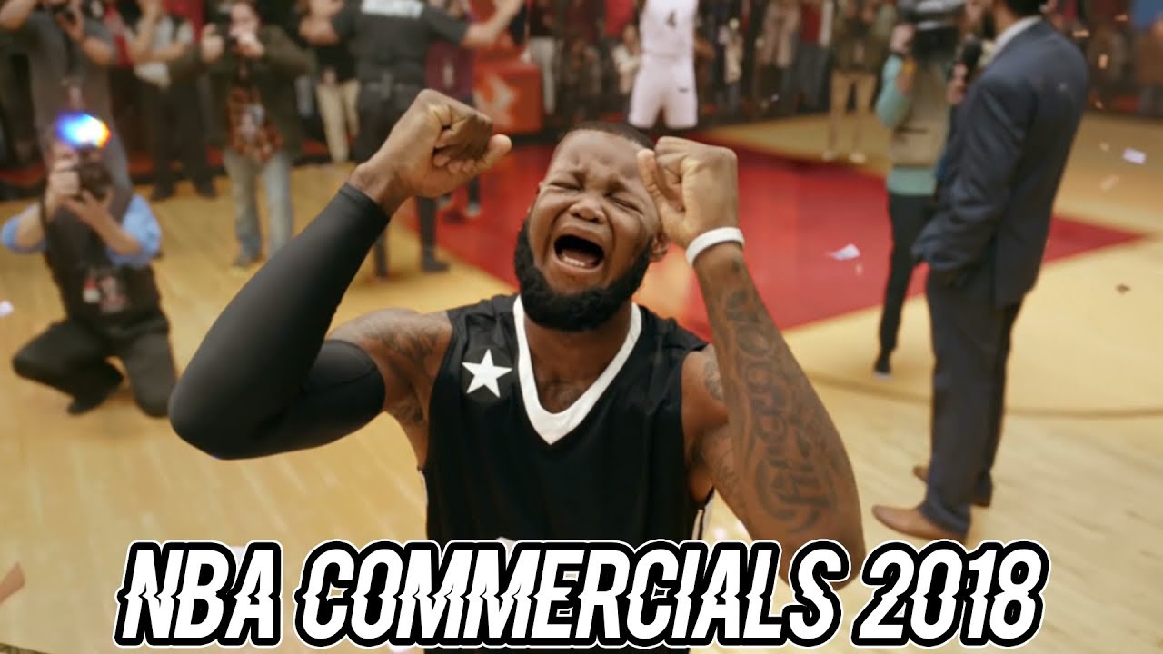 NEW FUNNY NBA Commercials 2018 Ft
