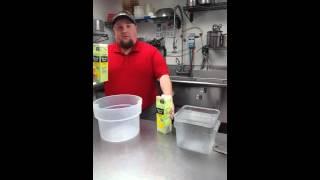 making new lemonade