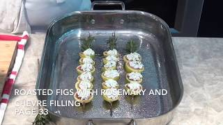 Figs with Rosemary Chevre Filling - Kay Goodman