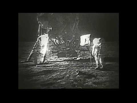 Высадка на Луну.