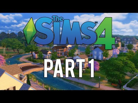 The Sims 4 Xbox One | Walkthrough Gameplay | Part 1 | MOVING IN!