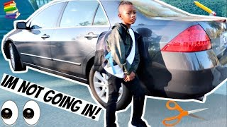 KHE-SANH HAD A MELTDOWN BEFORE HIS FIRST DAY OF SCHOOL 💔(HE DID NOT WANT TO GO IN) 😌| LACY'S FILES