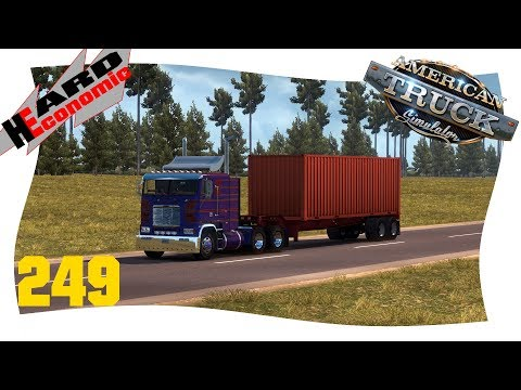 Hard Economic Don | 249 | Zwischenstopp in Saskatoon [American Truck Simulator]