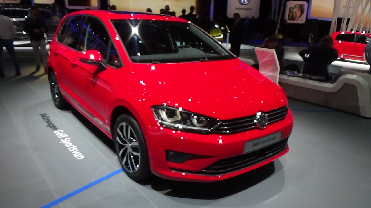 2017 volkswagen golf sportsvan sound exterior and interior geneva motor show 2017 youtube. Black Bedroom Furniture Sets. Home Design Ideas